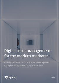 Digital Asset Management for the Modern Marketer