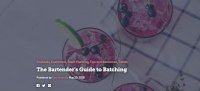The Bartender's Guide to Batching