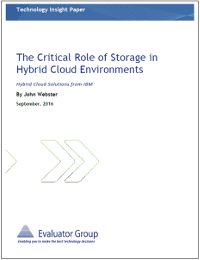 The Critical Role of Storage in Hybrid Cloud Environments