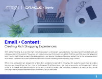 Email and Content: Creating Rich Shopping Experiences