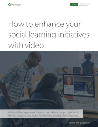How to Enhance Your Social Learning Initiatives with Video