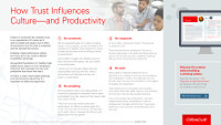 How Trust Influences Culture - and Productivity