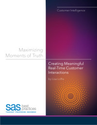 Maximising Moments of Truth: Creating Meaningful Real-Time Customer Interactions
