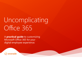 Uncomplicating Office 365