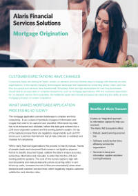 Alaris Mortgage Origination Solution
