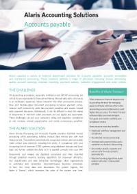 Alaris Accounting Solutions: Accounts Payable