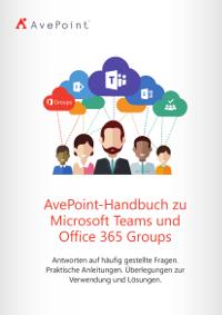 AvePoint-Handbuch zu Microsoft Teams und Office 365 Groups