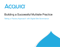 Building a Successful Multisite Practice