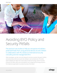 Avoiding BYO Policy and Security Pitfalls