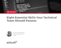 8 Essential Skills Your Technical Team Should Process