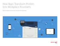 How Apps Transform Printers into Workplace Assistants