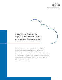 4 Ways to Empower Agents to Deliver Great Customer Experiences