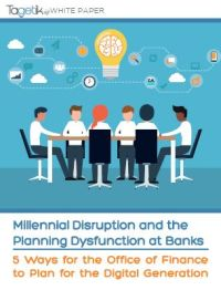 Millenial Disruption and the Planning Dysfunction at Banks