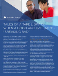 "Tales of a Tape Library: When a Good Archive Starts ""Breaking Bad"""