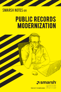 Smarsh Notes on Public Records Modernization