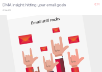 DMA Insight: Hitting Your Email Goals [Infographic]