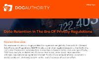 Data Retention In The Era Of Privacy Regulations [Whitepaper]