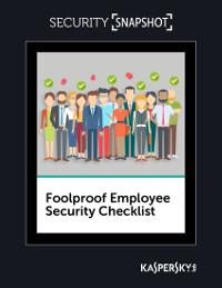 Foolproof Employee Security Checklist