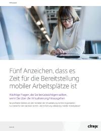 Fünf Anzeichen für die Notwendigkeit von mobilen Arbeitsbereichen