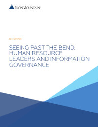 Human Resource Leaders and Information Governance