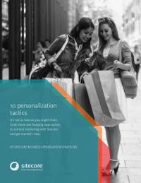 10 Personalisation Tactics