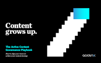 Content grows up. The Active Content Governance playbook.