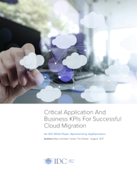 Critical Application And Business KPIs For Successful Cloud Migration