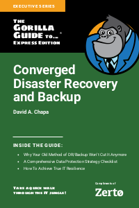 Converged Disaster Recovery and Backup