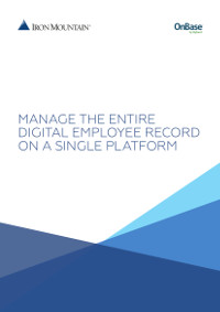 Manage the Entire Digital Employee Record on a Single Platform