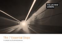 7 Essential Steps to Procurement Transformation
