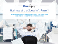 Business at the Speed of... Paper?