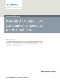 Warum ALM und PLM zusammen eingesetzt werden sollten