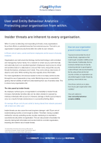 Protecting Your Organisation from Within