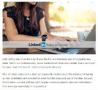 Moving Beyond Cold Calling with LinkedIn and Social Selling
