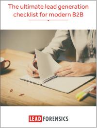The Ultimate B2B Lead Generation Checklist