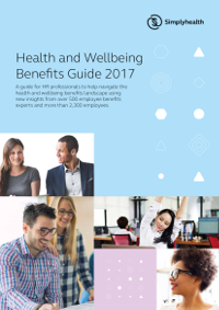 Simplyhealth Health and Wellbeing Benefits Guide 2017