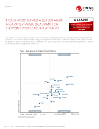 Gartner Magic Quadrant EPP 2018