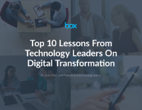 Top 10 Lessons from Technology Leaders on Digital Transformation