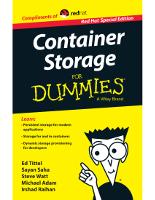 Container-Storage für Dummies