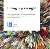 Hiding in Plain Sight: ISO 27001 and the Management of Emerging Cyber Threats
