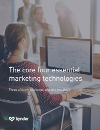 The Core Four Essential Marketing Technologies