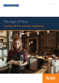 The Age of Now: Creating Real-time Customer Engagement