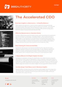 The Accelerated CDO