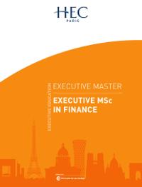 Executive MSc in Finance