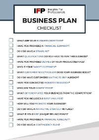 Business Plan [Checklist]