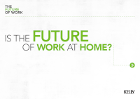 Is The Future of Work at Home?