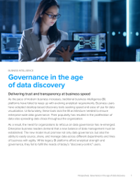 Governance in the Age of Data Discovery