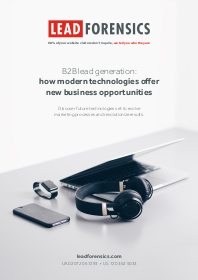 B2B Lead Generation: How Modern Technologies Offer New Business Opportunities