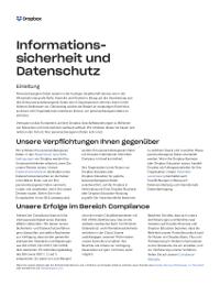 Datenschutz und Datensicherheit – ein Whitepaper von Dropbox