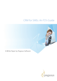 CRM for SMEs: An FD's Guide